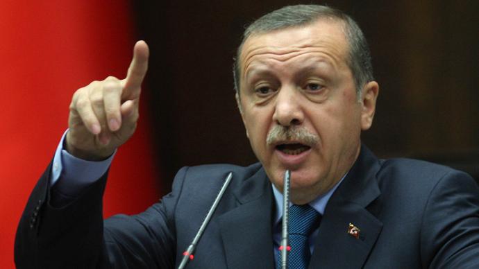 Turkish Prime Minister Recep  Erdogan (AFP Photo / Adem Altan)