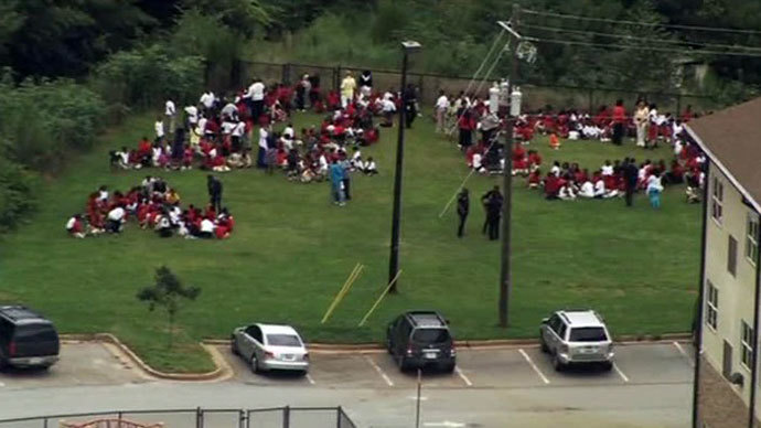 Gunfire in Georgia elementary school: Children and staff evacuated, suspect in custody