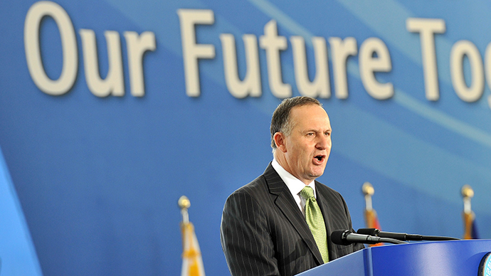 New Zealand Prime Minister John Key (AFP Photo / Jung Yeon-Je)