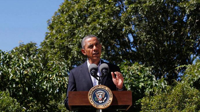 U.S. President Barack Obama.(Reuters / Larry Downing)