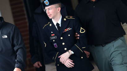 Manning heads to notorious Fort Leavenworth prison to serve sentence