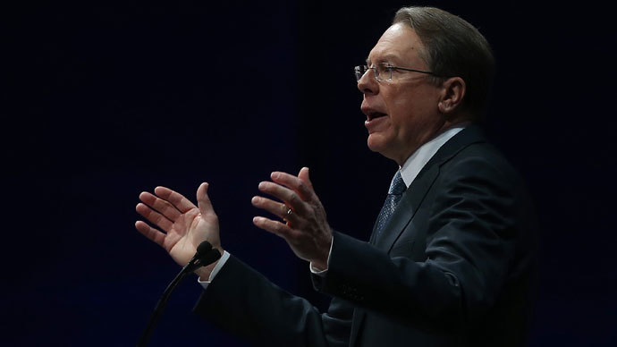 NRA executive vice president Wayne LaPierre.(AFP Photo / Justin Sullivan)