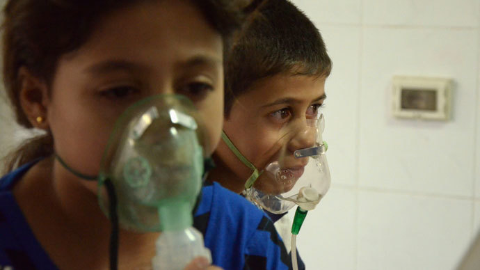 UN chief: Use of chemical weapons in Syria would be 'a crime against humanity'
