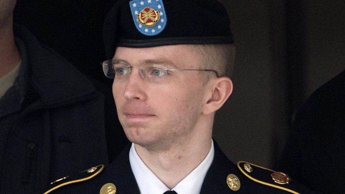 US Army Private First Class Bradley Manning (AFP Photo/Saul Loeb)