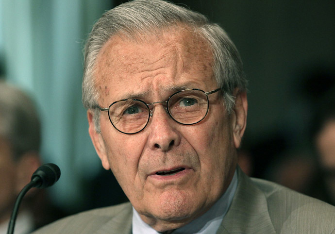Former Defense Secretary Donald Rumsfeld (Mark Wilson/Getty Images/AFP)