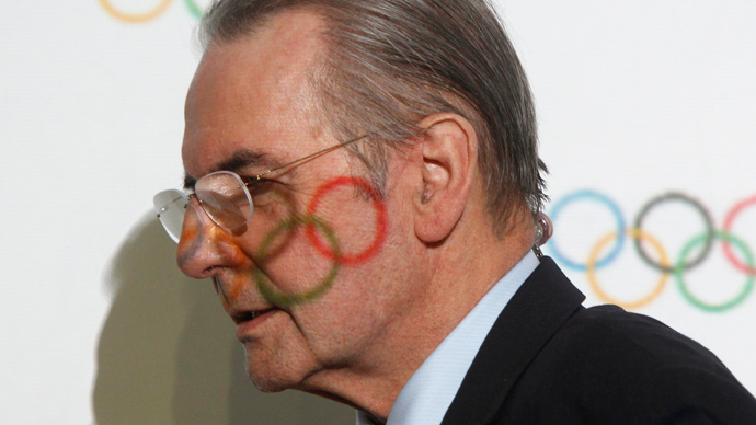 International Olympic Committee (IOC) President Jacques Rogge  (Reuters / Alexander Demianchuk)