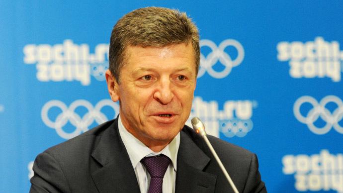 Russian Deputy Prime Minister Dmitry Kozak (RIA Novosti/Viktor Klushkin)