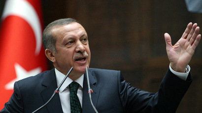 Turkish police detain 'mentally unstable man' with fake bomb near PM's office