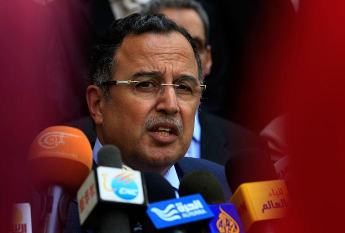 Egypt's interim Foreign Minister Nabil Fahmy (Reuters / Mohamed Nureldin Abdallah)
