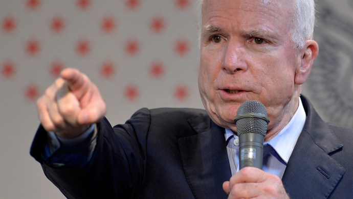 McCain: Syria intervention could be done 'easily'