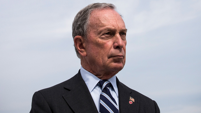 New York City Mayor Michael Bloomberg (Andrew Burton / Getty Images / AFP)