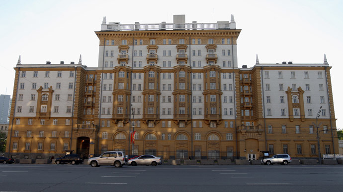 The U.S. Embassy in Moscow (RIA Novosti/Iliya Pitalev)