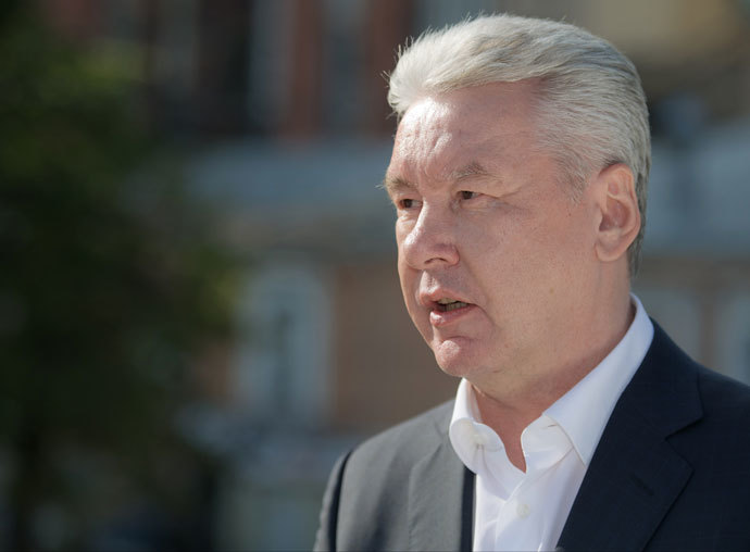 Acting Mayor of Moscow Sergei Sobyanin.(RIA Novosti / Denis Grishkin)