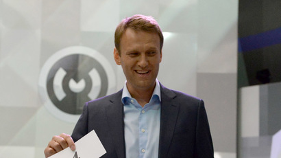 Navalny elected chairman of unregistered party
