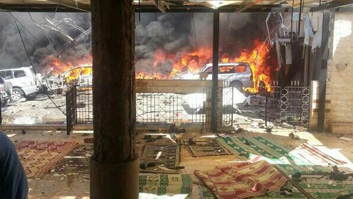 Al-Nusra Front suicide attack kills at least 4 in Lebanon (PHOTOS)