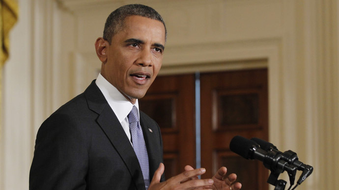 Still not the 'red line': Obama edges away from 'difficult, costly' Syrian 'mire'
