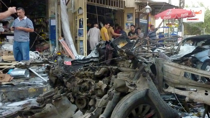 Suicide bombing in Baghdad, attacks across Iraq kill 32