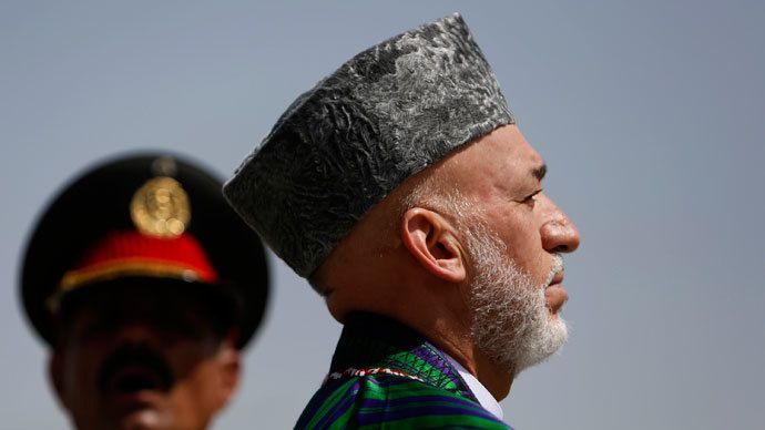 Afghan President Hamid Karzai.(Reuters / Mohammad Ismail)