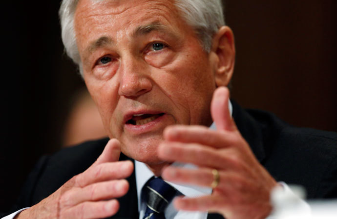 U.S. Secretary of Defense Chuck Hagel.(Reuters / Kevin Lamarque )