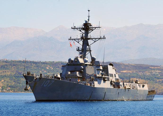 USS Gravely.(AFP Photo / Paul Farley)