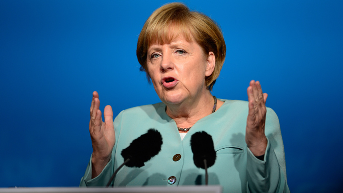 Pre-election talk: Merkel denies debt write-down for Greece