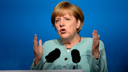 Size of a third Greek bailout? Merkel remains ambiguous