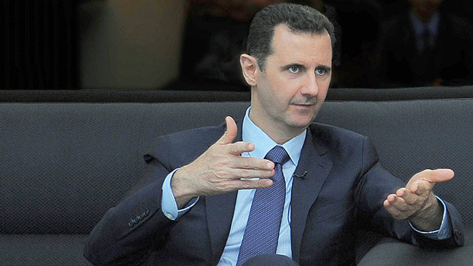 Accusations that Syria used chemical weapon 'against logic' - Assad