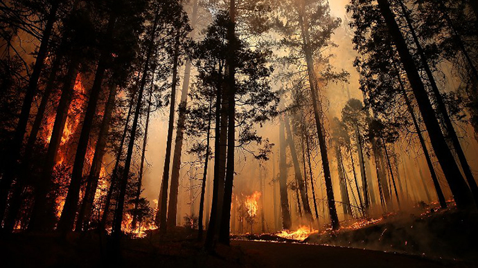 Yosemite wildfire nears San Francisco water supply
