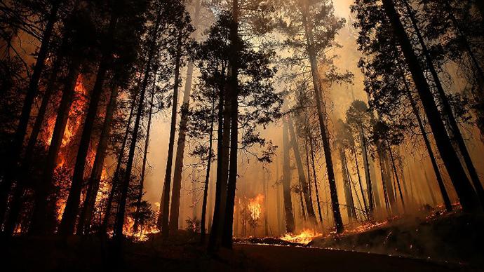 Yosemite wildfire nears San Francisco water supply