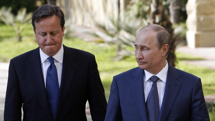 Putin to Cameron: No evidence Syria chemical weapons attack took place