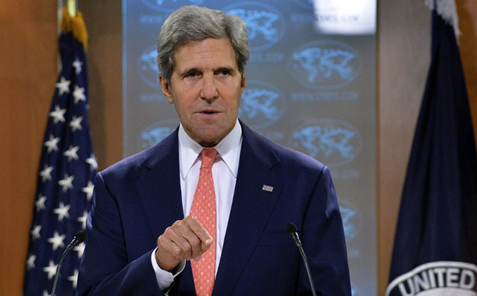 US Secretary of State John Kerry (AFP Photo / Jewel Samad)