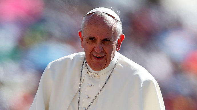 Pope Francis.(Reuters / Tony Gentile)