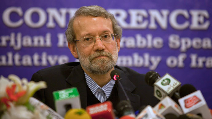 Iran's Parliament speaker Ali Larijani.(Reuters / Faisal Mahmood)