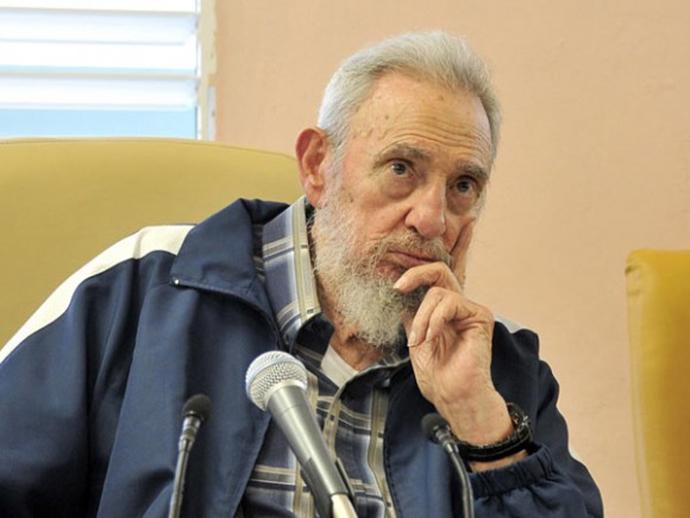 Former president Fidel Castro (AFP Photo / Estudios Revolucion)