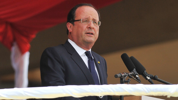 French President Francois Hollande (AFP Photo/Issouf Sanogo)