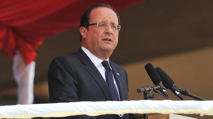 French President Francois Hollande (AFP Photo/Issouf Sanogo)