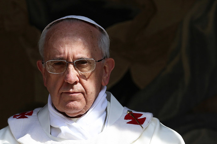Pope Francis (Reuters/Alessandro Bianchi)