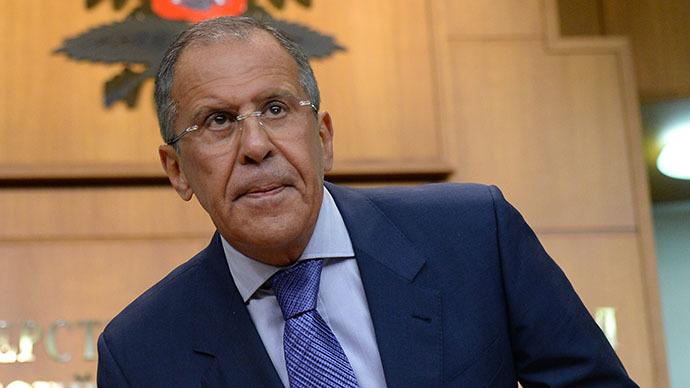 Russian Foreign Minister Sergei Lavrov (RIA Novosti / Maxim Blinov)
