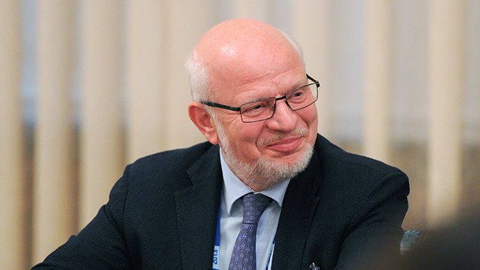 Mikhail Fedotov, adviser to the Russian President, chairman of the Presidential Council for Civil Society Development and Human Rights (RIA Novosti / Michael Klimentyev)