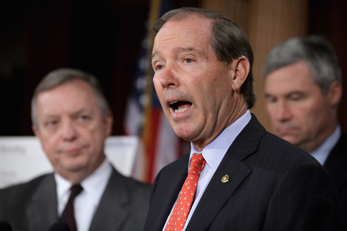 U.S. Sen. Tom Udall (Chip Somodevilla / Getty Images / AFP)