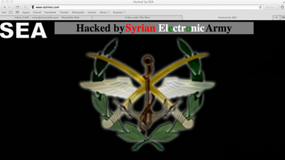 'Stop spying on people!': Syrian Electronic Army hacks Skype