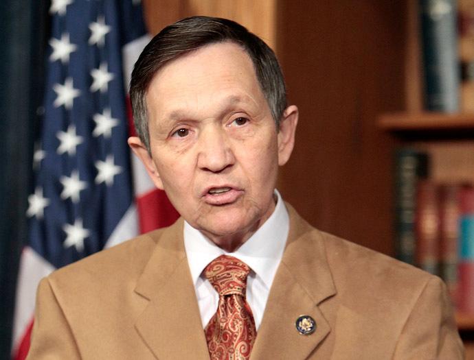 U.S. Rep. Dennis Kucinich (D-OH) (Alex Wong/Getty Images/AFP)