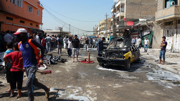Death toll rises to 86 in Baghdad bombings
