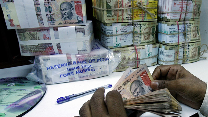 Emerging crisis: India's rupee punished amid investors' 'flight to safety'