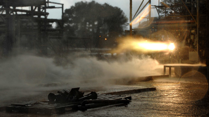 Cut-price space? NASA successfully tests 3D-printed rocket engine injector