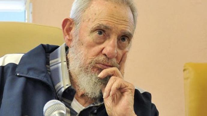 Fidel Castro (AFP Photo / HO / www.cubadebate.cu / Estudios Revolucion)