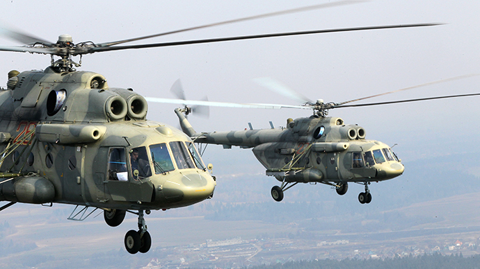 Pentagon investigating helicopter deals with Russian, American contractors