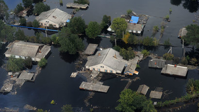 Hundreds evacuated after floods break dam in Russia's flood-hit Far East