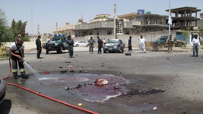 Afghan mosque blast during Eid prayer kills governor, injures at least 15