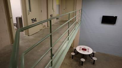 Graphic court video shows prison guards deploying pepper spray on mentally ill inmate